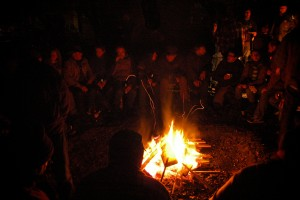 Lagerfeuer aufSpur13